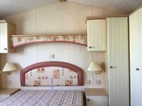 Static caravan for sale at Pease Bay. Scottish Borders, Berwickshire Scotland. Pay monthly options.