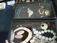 Large Selection of Vintage/Antique Shell Jewelry