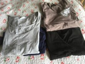 Nursing tops (S and M)