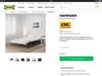 Ikea Hammarn Sofa Bed.