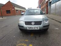 2004 VOLKSWAGON PASSAT 1.9 DIESEL,FULL YEAR MOT JUST DONE,2 OWNER,VERY,HPI CLEAR,WARRANTY MILEAGE