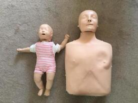 Resus adult and baby Anne