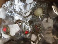 New jewellery earrings. Necklaces bracelets 10 kg