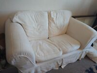 Two seater sofa - great condition