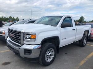 2016 GMC SIERRA 2500HD Reg Cab 8 Foot Box