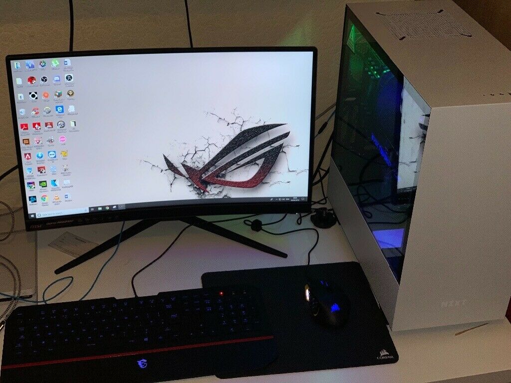 i7 9700k, 16GB DDR4 RAM, Nvidia RTX 2070, +144Hz Curved Monitor GAMING PC   | in Coventry, West Midlands | Gumtree
