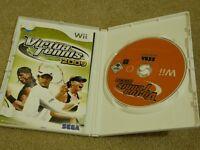 Nintendo Wii Game Virtua Tennis 2009 - 3+