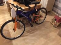 "BNIB ""Irn Bru"" mountain bike"