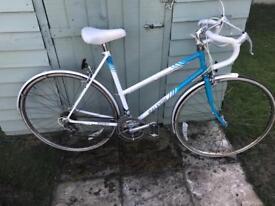 Racer bike Raleigh