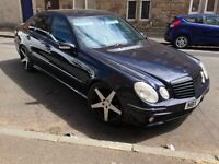 Mercedes E270 Avantgarde facelift AMG E63 full rep sale/swap