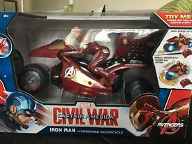 Iron man remote control motorcycle