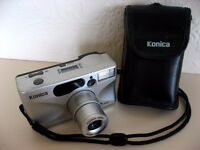 Immaculate Konica Z.up80e compact 35mm film camera with 35-80mm zoom lens - good working order £8