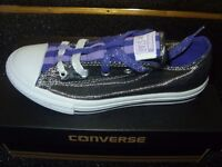 Girls Converse All Star:- 1 pair size 3.5/1 pair size 5