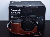 Lumix GX7 with 20mm f1.7 pancake lens & more!