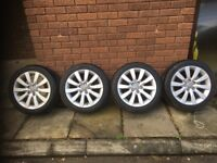 AUDI A1 ALLOY WHEELS WITH TYRES