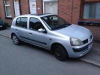 Renault Clio for repair or parts