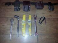 Scaffolding tools and belt