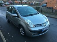 NISSAN NOTE 1.4 PETROL.FULL DEALER SERVICE HISTORY,1 OWNER,2 KEY,CALL 07440475545