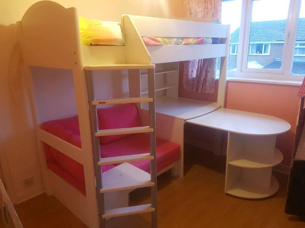 Stompa Casa 4 children's high sleeper bed like bunk bed ...