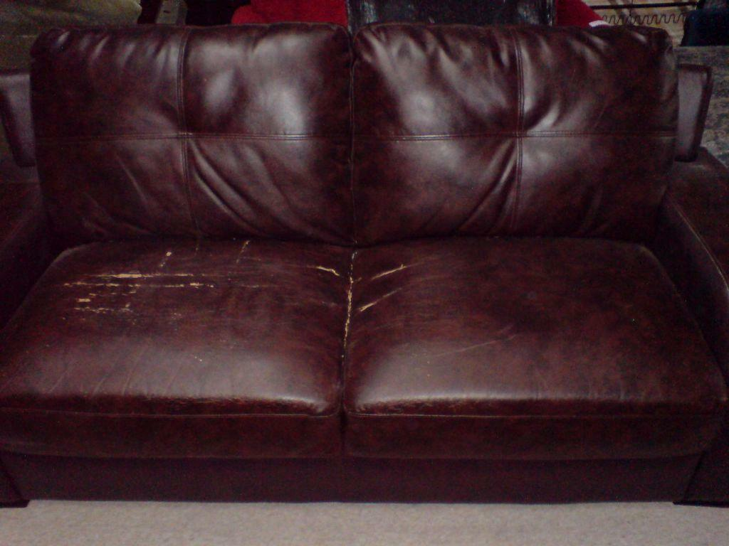 2 Seat Leather Sofa In Bradford West Yorkshire Gumtree