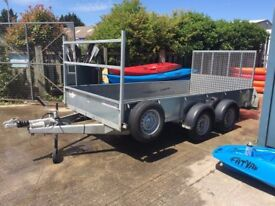 Immaculate IFOR Williams GD126 Flatbed Trailer