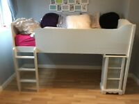 High rise single bed from Next.