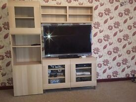 tv wall unit excellent condition