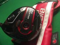 Callaway Big Bertha 815 Double Diamond driver X stiff shaft