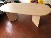 Rounded 2m Long Table – Great for meeting room