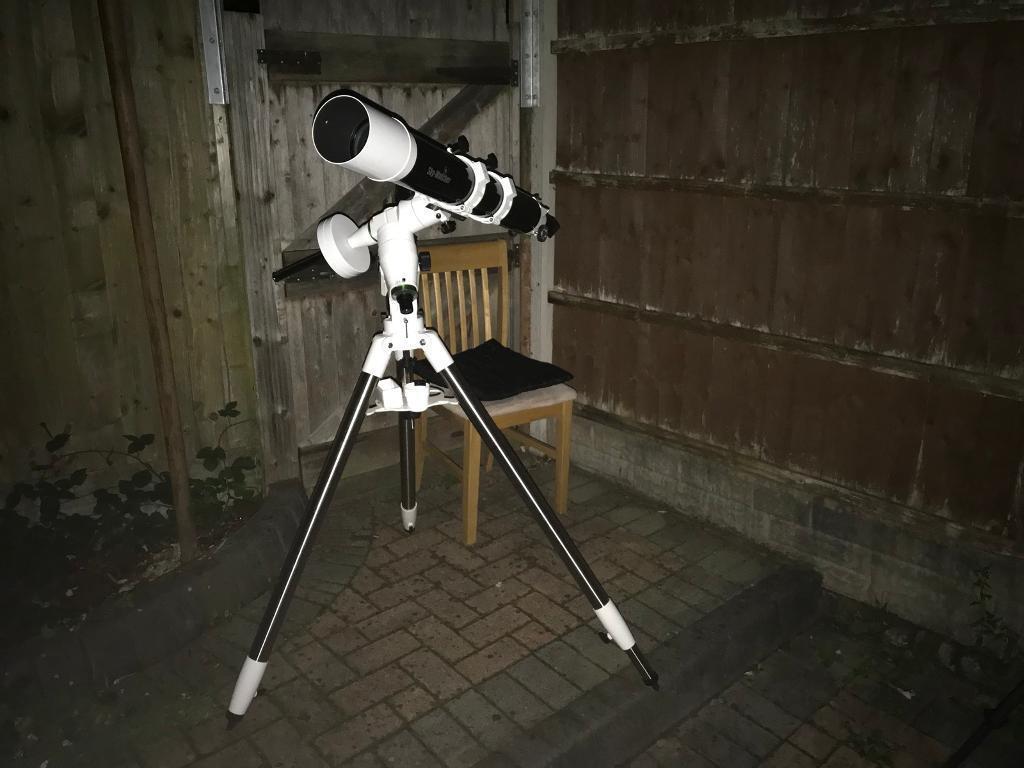 Full telescope setup