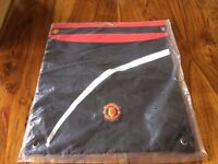 Manchester United kids gym school PE bag new and unused