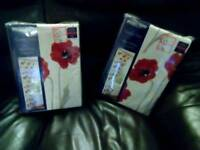 Poppy curtains and cushions