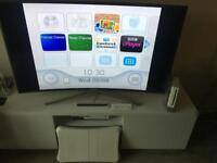 Nintendo Wii Console, Controller, Fit Board & Games For Sale