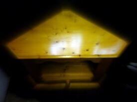 PINE FURNITURE - TV Unit & Nest of Tables