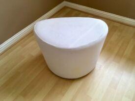 Ikea swivel pouffe/stool