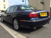 Jaguar S-type 2.7 D Automatic, Leather, Sat Nav, Touchscreen, Climate Control, Very good condition