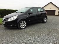 Late 2007 Vauxhall Corsa 1.2 Design A/C. 46000 miles Immaculate. Full MOT