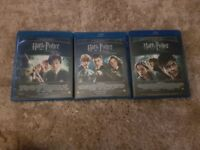 Blue ray full set of harry potters
