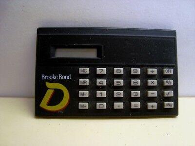 Brooke Bond D Tea Calculator In Working Order