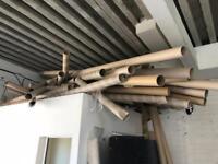 FREE cardboard carpet tubes