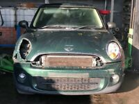 Mini Cooper R56 LCI, N47C16 Engine, GS6-53DG Gearbox, Front and Rear Bumper - BREAKING FOR PARTS
