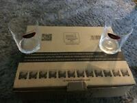 Riedel Manhattan 12 glasses German made restaurant quality