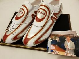 1d5dc7429cd3 Huddersfield Town Andy Booth signed football boots. Excellent condition.  Proceeds go to charity