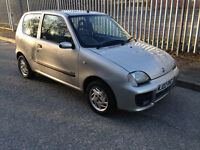 ONLY 53000 MILES!!! 2002 Fiat Seicento 1.1 Sporting, HPi clear