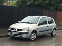 ★02 RENAULT CLIO 1.2 AUTOMATIC★ + 11 MONTHS M.O.T + corsa