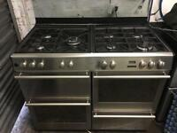 Diplomat range gas cooker and electric ovens 110cm