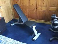 Body Solid incline/flat/decline heavy duty folding bench