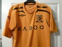 HULL CITY HOME SHIRT VERY GOOD CONDITION