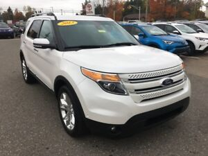 2013 Ford Explorer AWD Limited 7-passenger ONLY $227 BIWEEKLY W