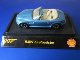 Collectible 007 BMW Z3 Roadstar Car From The Shell Collection